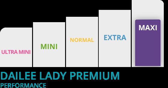 grafico dailee lady slim premium maxi