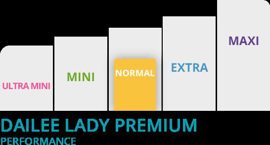 Grafico dailee lady slim premium normal