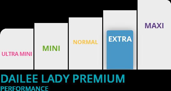 grafico dailee lady slim premium extra