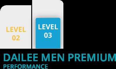 Grafico dailee men level 03 premium