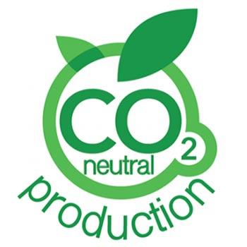 Logo certificazione co2 neutral